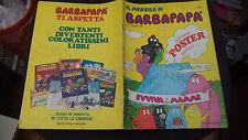 """IL MENSILE DI BARBAPAPA N.30 MAGGIO 1979 MONDADORI - CON POSTER - BUONO """"N"""""""