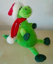 Peluche dinosauro babbo natale 20 cm dino pupazzo originale plush soft toys