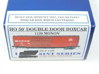 HO Branchline Blueprint Series 1120 MON Monon 50' Double Door Box Car #1448 Kit
