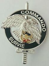 Brevet COMMANDO SURVIE du CNEC C.N.E.C Centre National d'Entraînement Commando