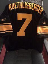 Ben Roethlisberger Reebok Authentic Throwback Jersey Size 50
