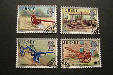 GB Jersey 1975 Commemorative Stamps~Farming~Very Fine Used Set~UK Seller