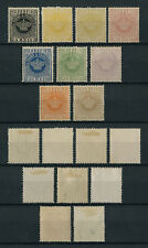 Portugal St. Thomas Sao Tome CROWN 1905 REPRINTS complete set MH, FVF