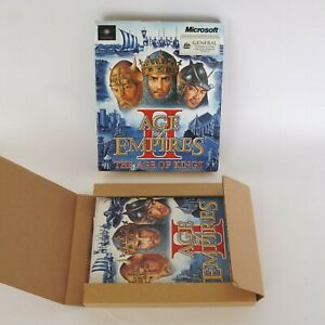 Age Of Empires 2 Big Box PC Game - COMPLETE