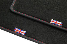 Exclusive Union Jack Fußmatten für Jaguar XF (X250) Bj. 2008-2015