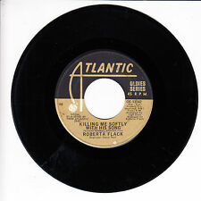 ROBERT FLACK Killing Me Softly With His Song VG(+) 45 RPM REISSUE