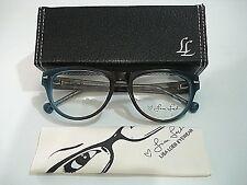 Lisa Loeb Eyewear Weak Day Aqua Brown Eyeglasses Rx-Able Frame