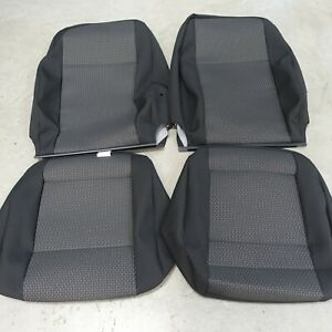 VW T6 FRONT SEATS FABRIC COVERS - FABRIC T6PA BRICKS