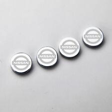 Laser Etched 4pcs Fit Nissan License Plate Frame Bolts Fastener Screws Cap Cover