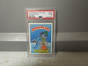 1986 Garbage Pail Kids Meltin' Elton trading card