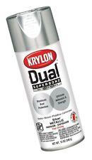 Krylon K08846007 'Dual' Superbond Paint and Primer Metallic Finish, Silver, 1...