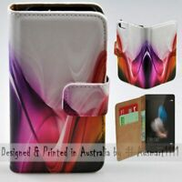 For Huawei Series - Aurora Abstract Theme Print Wallet Mobile Phone Case Cover