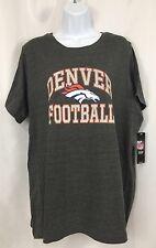 Denver Broncos Football Shirt Majestic NFL Team Apparel Women's XL T-Shirt