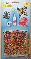 Hama GP 5513 - mini Bügelperlen Stiftplatte Multi - Blume Schmetterling Käfer