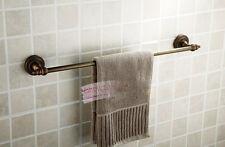 "Antique Brass Bathroom Towel Bar Towel Rack 25"" Length C14"