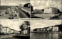 Ostseebad Heiligendamm DDR Mehrbild AK 1958 Strand Kurhaus Professor Vogel Str.
