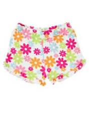 NWT Gymboree Girls Ice Cream Sweetie Flower Shorts Size 12-18 M