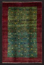 TAPPETO PERSIANO GABBEH LORI BAFT NODO FINE ANNODATO A MANO cm. 210 x 138