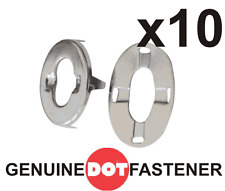 10 X STAINLESS STEEL Turnbutton Fasteners Eyelet Washer BOAT COVER CANOPY CANVAS