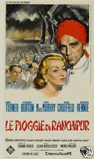 The rain of Ranchipur Lana Turner vintage movie poster