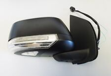 New Door Mirror Black Electric With Indicator R/H For Nissan Navara D40 - 2.5DCi