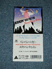 """EDDY HUNTINGTON Japan 1988 Tall 3""""CD Single BANG BANG BABY"""