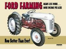 Metal Sign Farm Tractor Ford Farming NEW