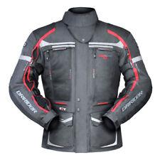 4xl Mens DRIRIDER Vortex 2 Jacket All Seasons Touring Vented Motorbike Red