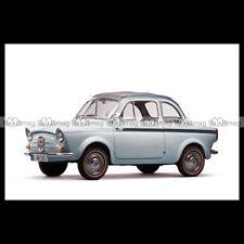 #pha.000222 Photo FIAT WEINSBERG 500 LIMOUSETTE 1960 MINICAR MICROCAR Auto Car