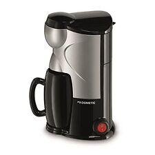 Waeco MC-01 Single Cup Coffee Maker, 12 V, Silver  Black