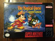 Magical Quest Super Nintendo SNES USA - boxed with instructions