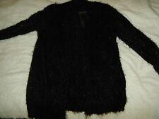 NWT Apt.9 Black Eyelash Sweater M