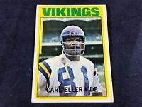 M3-98 FOOTBALL CARD - CARL ELLER MINNESOTA VIKINGS - CARD #20 - 1972 TOPPS