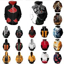 Naruto0 Cosplay Anime Mens Hoodie 3D Print Hooded Pullover Jacket For Men/Women