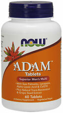 Now Foods Adam Superior Hombre Múltiple Vitamina - 60 Tabletas