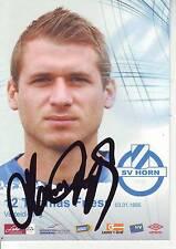 FOOTBALL carte joueur THOMAS FRESS équipe SV HORN signée