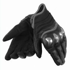 Gants noirs en cuir pour motocyclette taille XS
