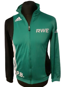 J04 Vintage Adidas Tus Bremen Football Track Jacket Zip Up Green  Size 32/34