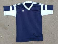 New listing 80s 90s vintage Adidas Trefoil blue soccer jersey t-shirt M - L