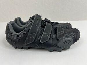 Giro Carbide Men's US Size 12 EUR 46 Mountain Bike MTB Shoes Gray Black EUC