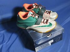 Nike KD 7 VII Easy Money Men's Shoes 653996-330 Mystic Green Light BN Gum Sz 8.5