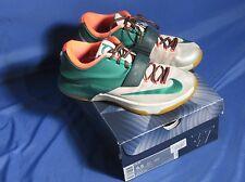Nike KD 7 VII Easy Money Men's Shoes 653996-330 Mystic Green Light BN Gum Sz 8.5