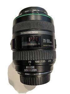 Canon EF 70-300mm F4.5-5.6 DO Diffractive Optics IS USM Macro FX Compact Lens