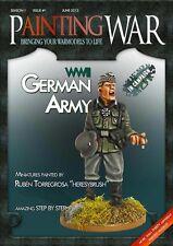 Peinture guerre-Volume 1-armée allemande WW2-Miniatures-Guide envoyés 1ST Classe