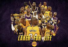 "Kobe Bryant LA Lakers Fridge Magnet Size 2.5"" x 3.5"""