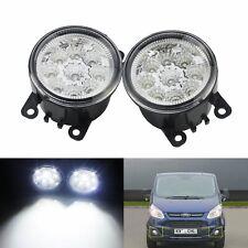 2x 9 LED avant Feux de brouillard Blanc Ford FOCUS FIESTA C-MAX TRANSIT MK7 MK8