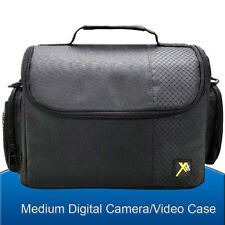 Medium Camera Bag Case Pouch for Canon Pentax Sony Olympus Panasonic DSLR Camera
