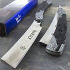 "10"" DEATH GRIM REAPER STRAIGHT RAZOR STAINLESS STEEL FOLDING KNIFE Fantasy Blade"