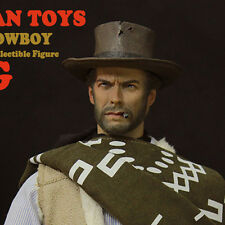 NEW REDMAN TOYS 1/6 brady HEADPLAY The Good, the Bad and the Ugly Clint Eastwood