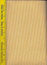 QUILT FABRIC: 100% COTTON, GOLD MINI CHEVRON STRIPE, By The Yard